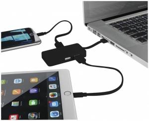 Rozbočovač USB Grid s dvoma káblami