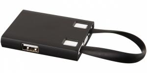 USB rozbočovač a káble 3 v 1