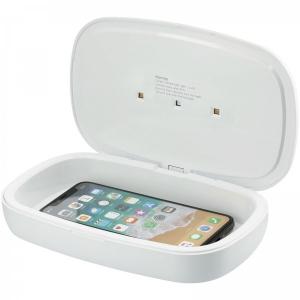 Capsule UV dezinfekčný prístroj pre smartphone s 5W bezdrôtovou nabíjacou podložkou