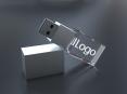 3D Krištáľový USB kľúč