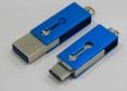 USB OTG 08 - USB 3.0 + Type C - usb s potlačou - 2